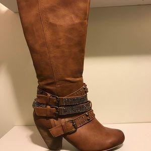 Rhinestone boots